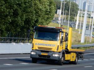 Iveco Eurocargo euro 5 3 voertuigenlader Laadvermogen: 6 ton Lepel: 5 ton