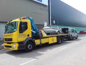 Volvo FL 240 euro 4 Laadvermogen: 5 ton Kraan: 15 ton/meter Lepel: 5 ton