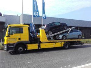 MAN TGM 250 euro 6 3 voertuigen lader Laadvermogen: 5 ton Kraan: 15 ton/meter Lepel: 5 ton