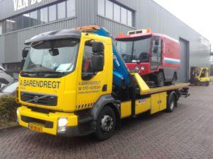 Volvo FL 280 euro 5 Laadvermogen: 5 ton Kraan: 15 ton/meter Lepel: 5 ton