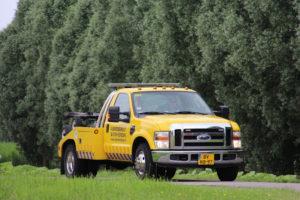 Ford F350 V8 Uitgevoerd met dollystel. Uitermate geschikt voor kleine ruimtes en parkeergarages